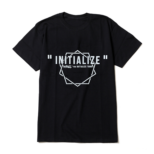 INITIALIZE Tシャツ