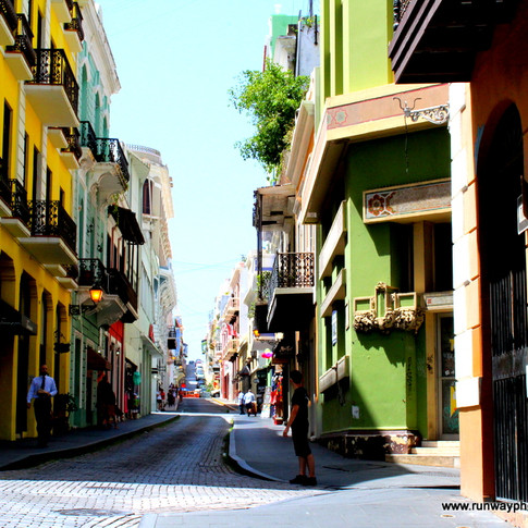 Streets of San Juan Puerto Rico