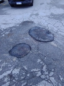 Pothole repairs - Alexander Heights