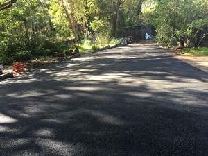 New asphalt driveway - Kalamunda Perth hills