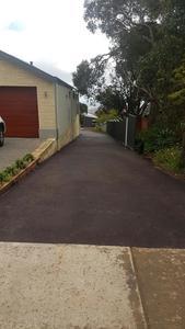 red oxide asphalt driveway