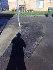Driveway bitumen repair - Armadale