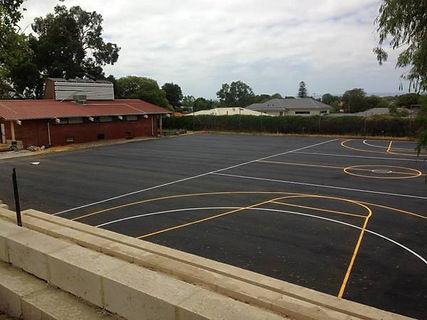 linemarking sports court