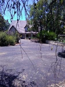 Red bitumen driveway - Lesmurdie - Perth hills