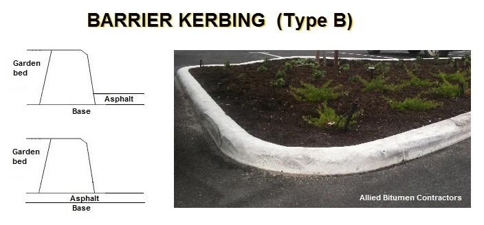 barrier kerbing