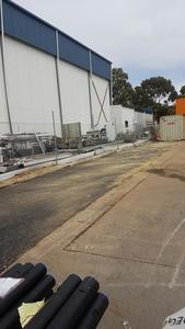 Asphalt yard repairs - Perth Industrial
