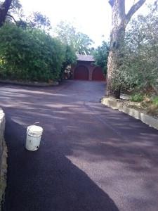 Red Hotmix Driveway - Darlington