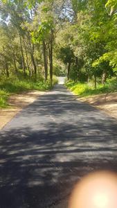 Steep driveway resurface