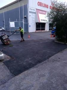 Industrial yard repair - Bayswater - Perth