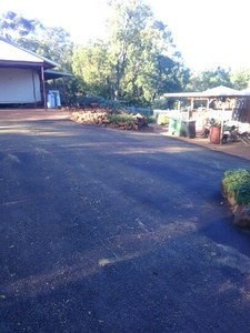 Red Hotmix Driveway - Roleystone