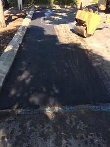 Carpark root damage repair
