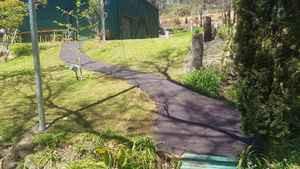 Bitumen path to shed - Piesse Brook - Perth hills