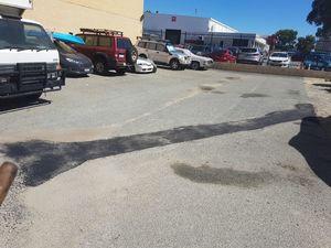 asphalt repairs - trench