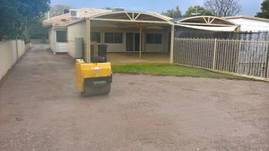 Driveway preparation - gravel basecourse