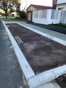 Roadside parking bay - Woodvale