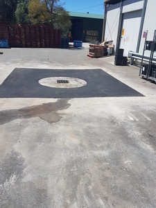 Commercial soakwell/drainage & carpark repair