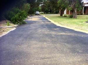 New driveway and crossover construction- Kalamunda - Perth Hills