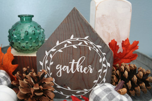 Rustic House Signs