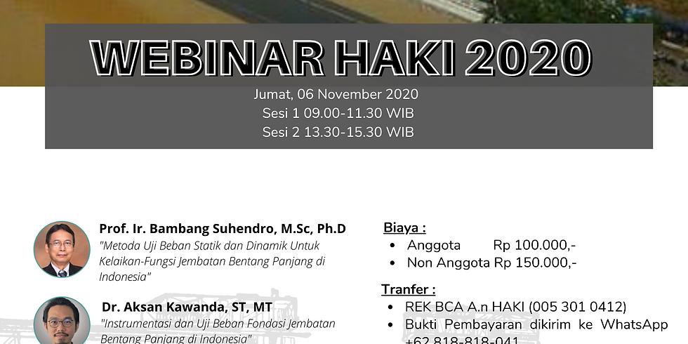 Webinar HAKI 06 November 2020