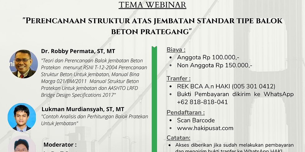 """Perencanaan Struktur Atas Jembatan Standar Tipe Balok Beton Prategang"""