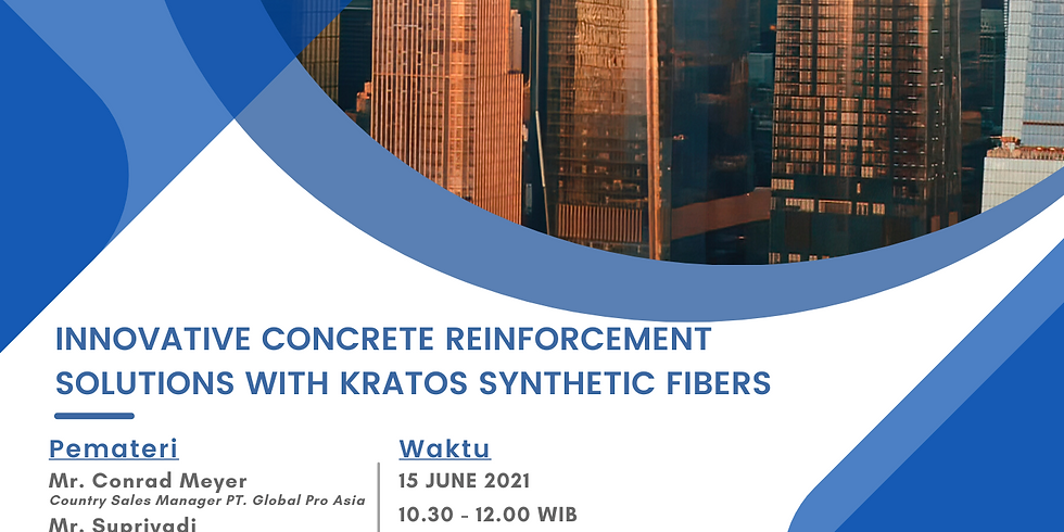 INNOVATIVE CONCRETE REINFORCEMENT SOLUTIONS WITH KRATOS SYNTHETIC FIBERS