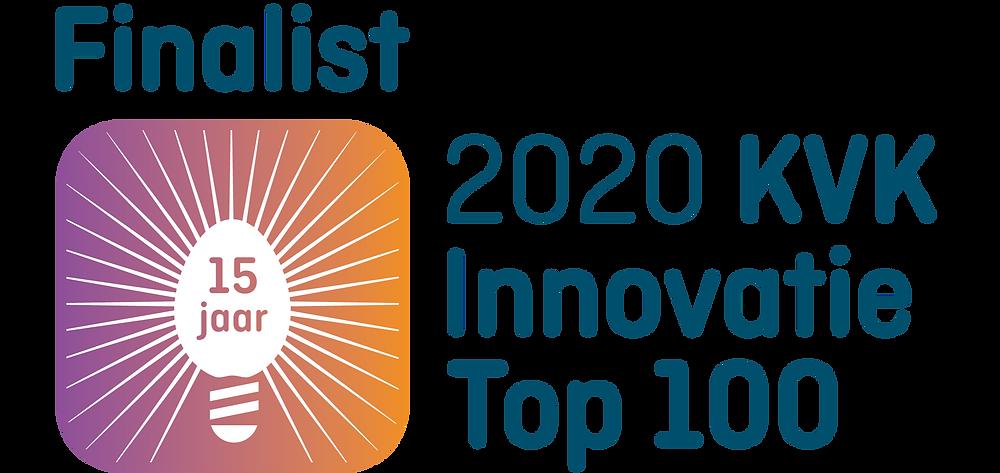 Logo KvK innovation top 100 2020