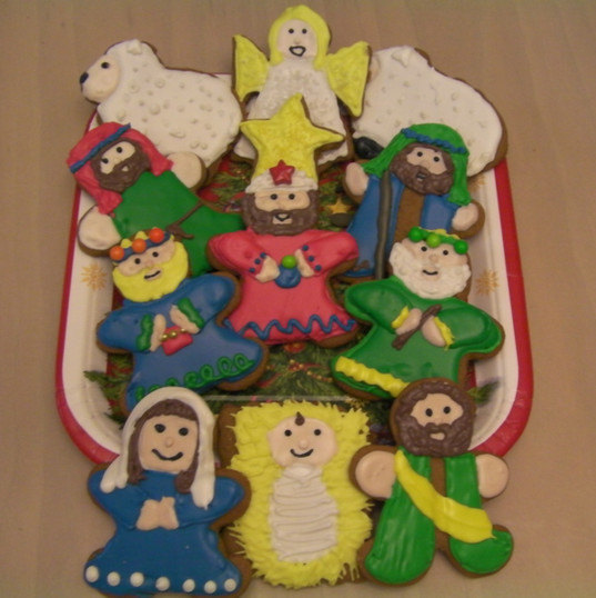 Nativity Cookies