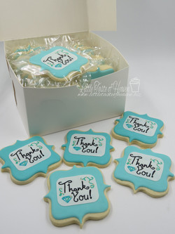 Thank you packaged
