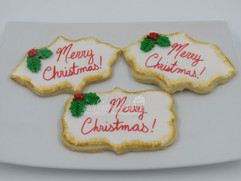 Holly message cookies