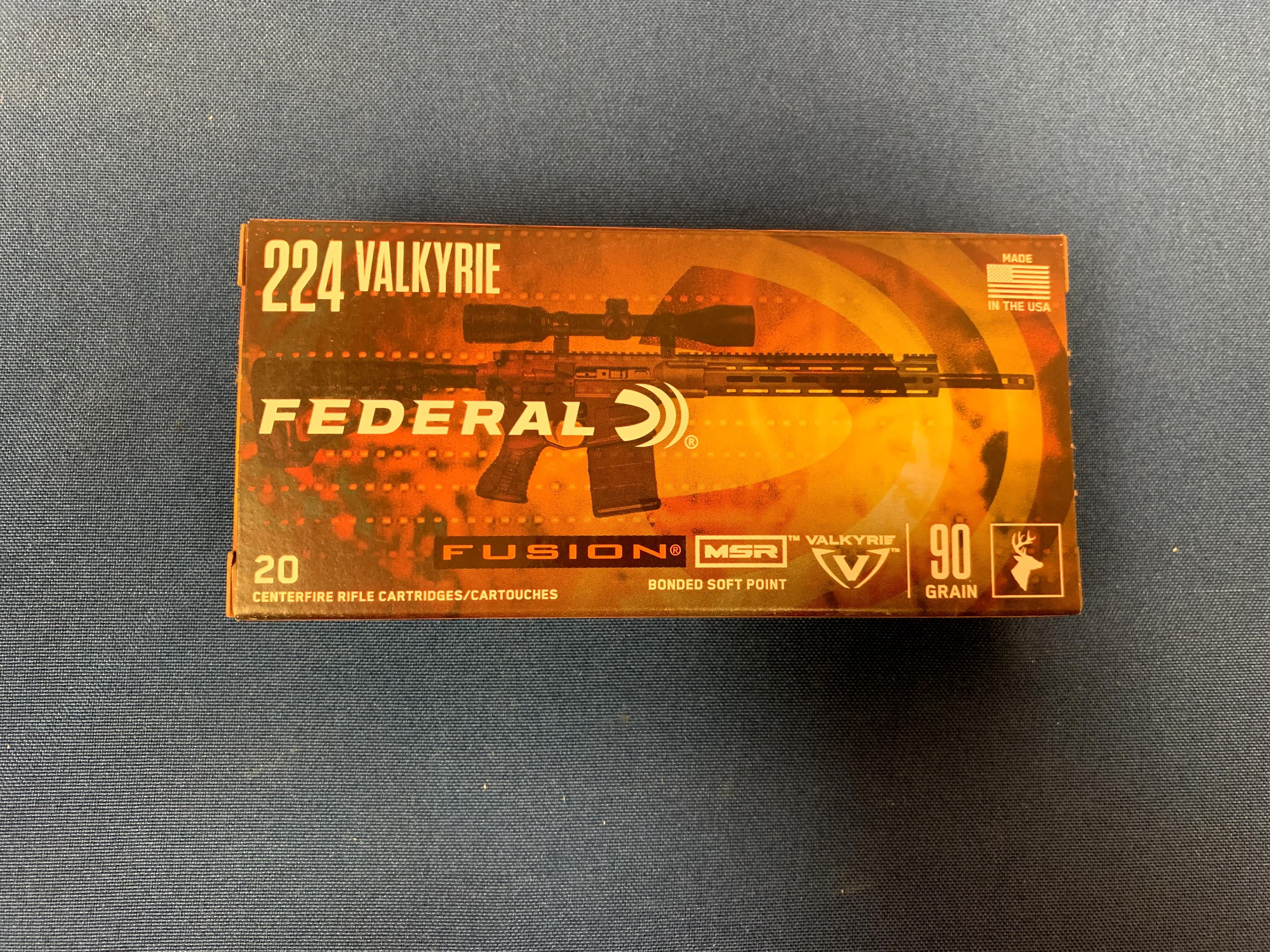 Federal .224 Valkyrie