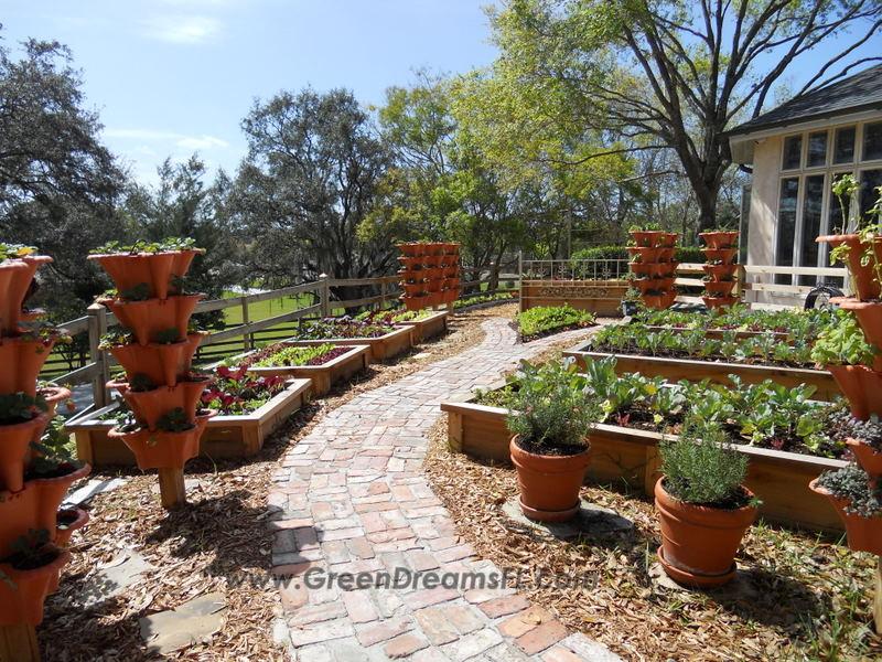 Organic Garden Installation Tampa