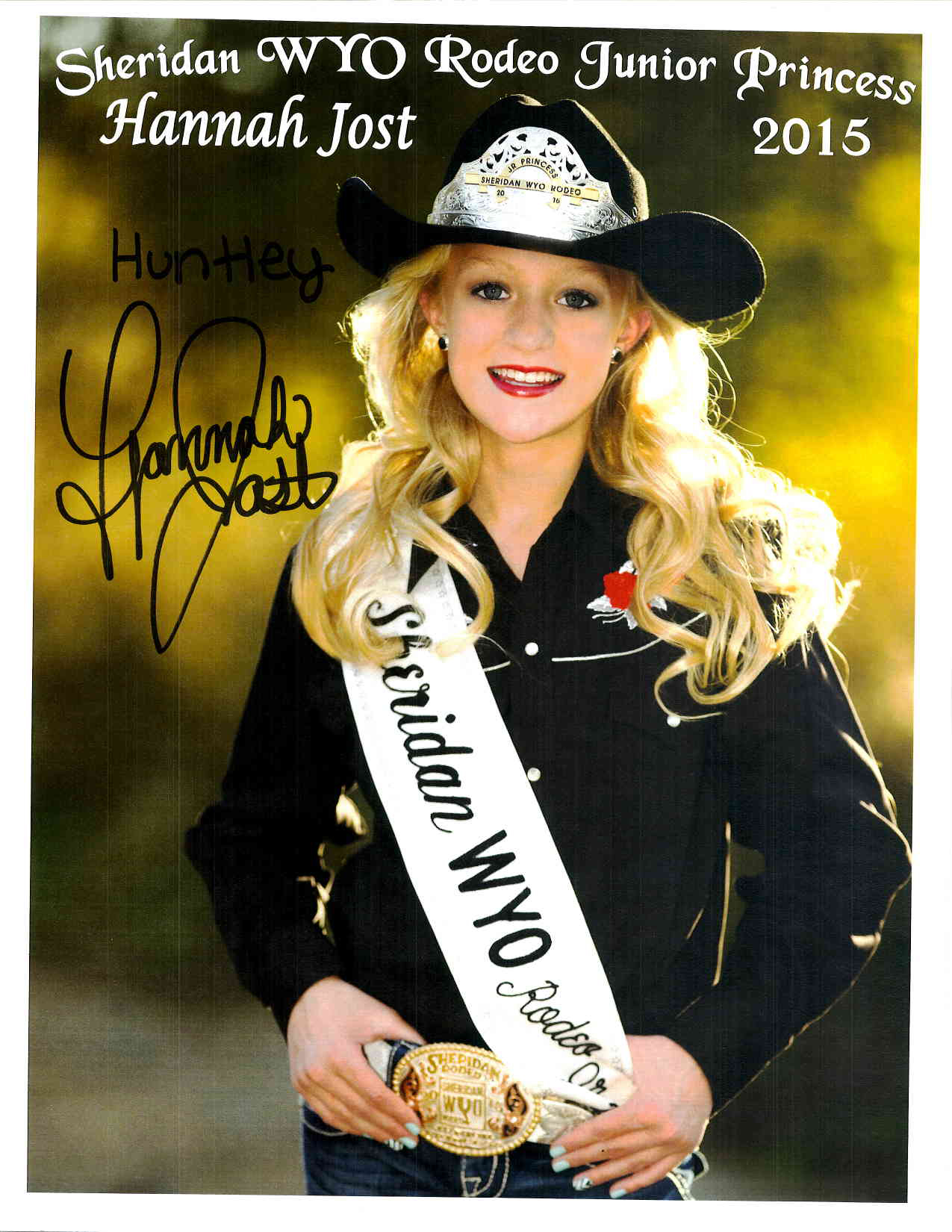 Rodeo Jr. Princess 2015