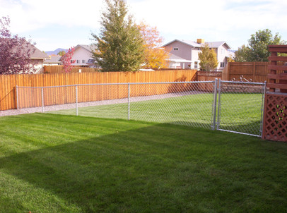 4' Galvanized Residential Chain Link