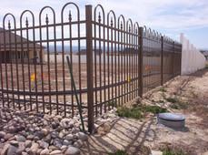Bronze Jerith Concord Aluminum Fence