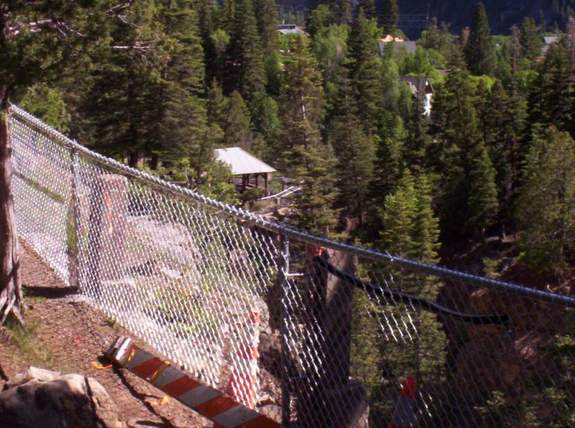 Ouray Box Canyon Falls Guard Rail