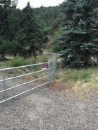 4-Rail Galvanized Pipe Fence