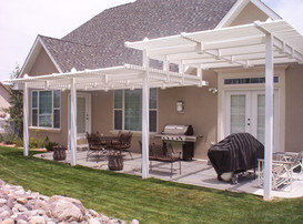 Two Tiered Pergola