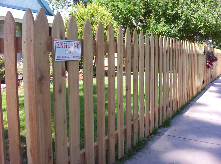 Gothic Picket Fence