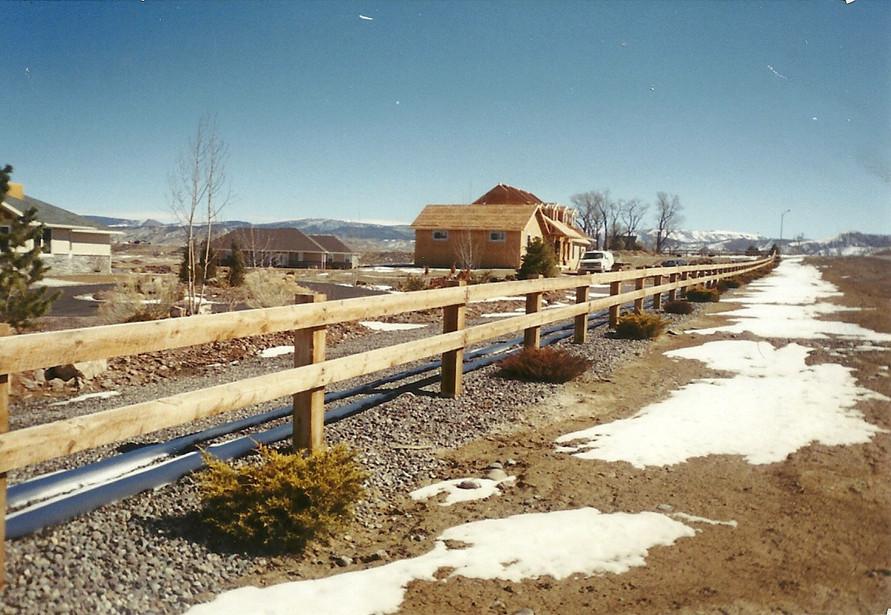 2-Rail 2x6 Fence