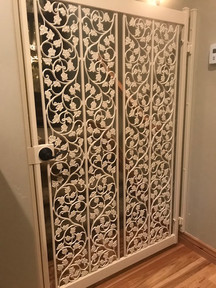 Custom Decorative Iron Gate