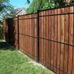 Wood & Iron Fence