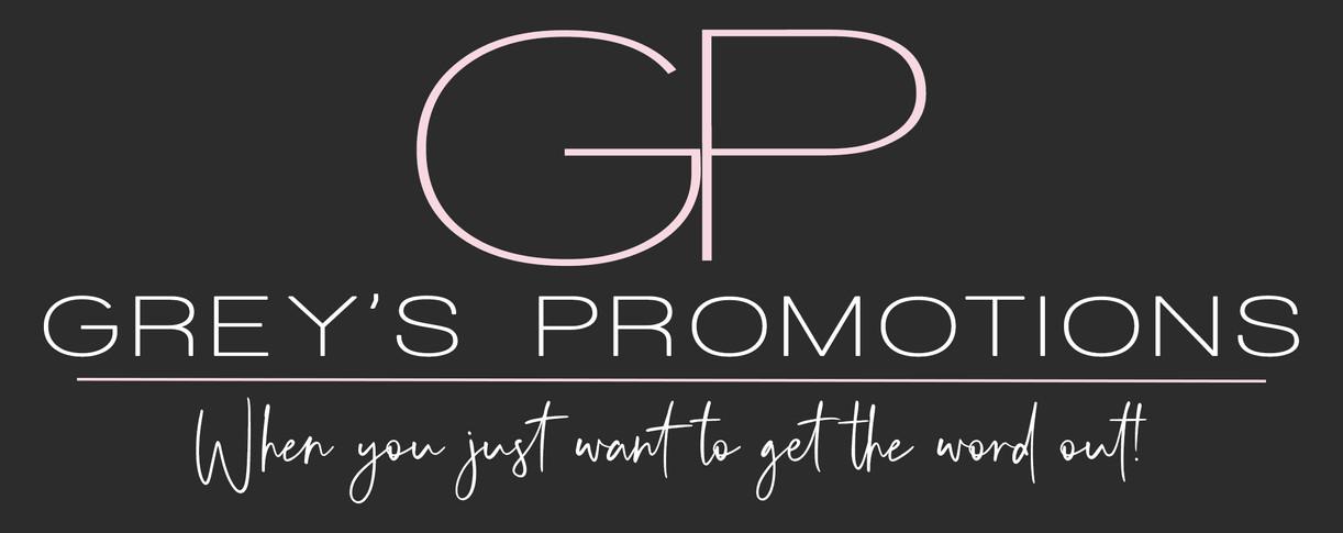 Grey's Promotions - Logo Final tagline