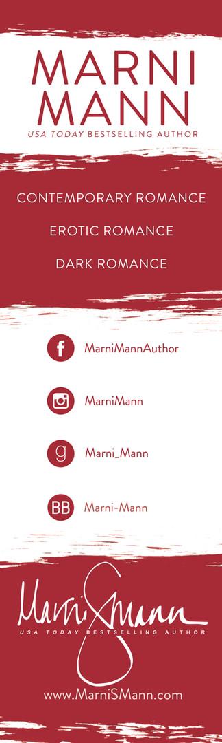 Marni Mann signing banner