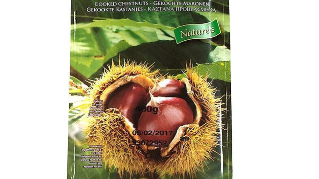 Chestnuts Cooked 400g Packet
