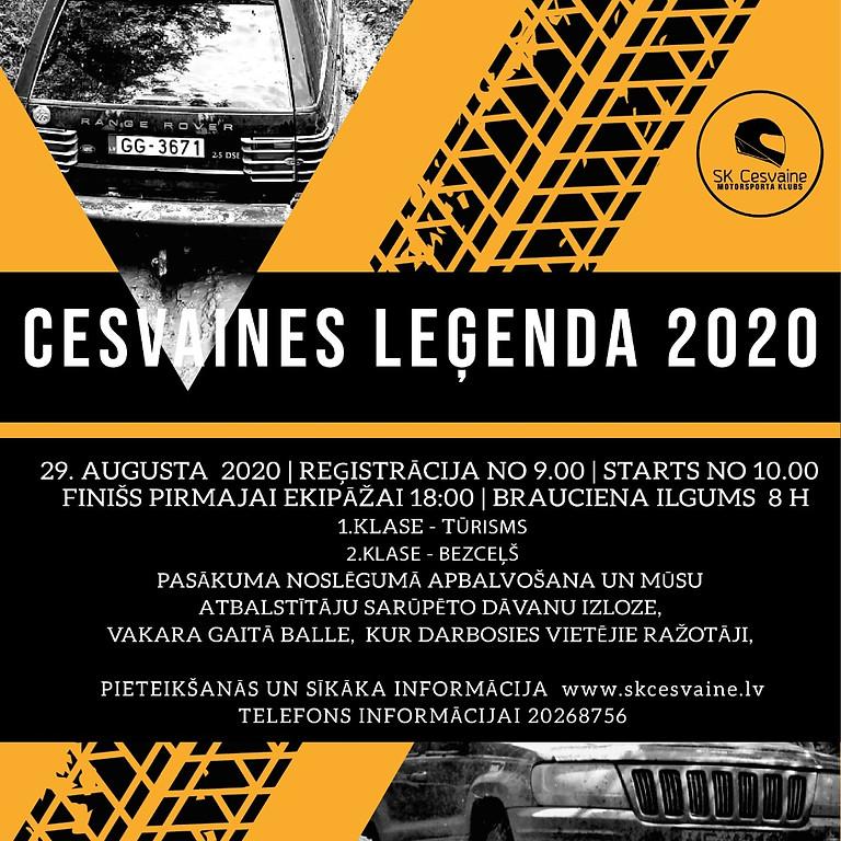 CESVAINES LEĢENDA 2020