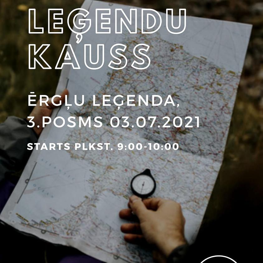 """""""Novada Leģendu Kauss"""" 3.posms"""