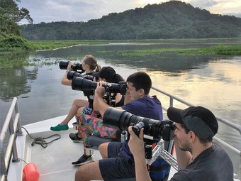 Photographers on Rainforest Photography