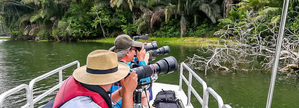 Rainforest Expedition Photography boat F