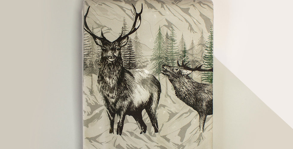 Highland Deer Apron
