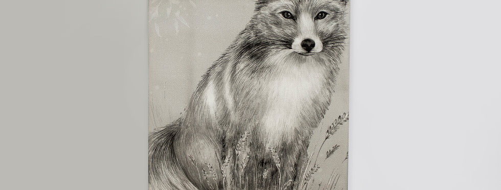 Fox & Fern Tea Towel